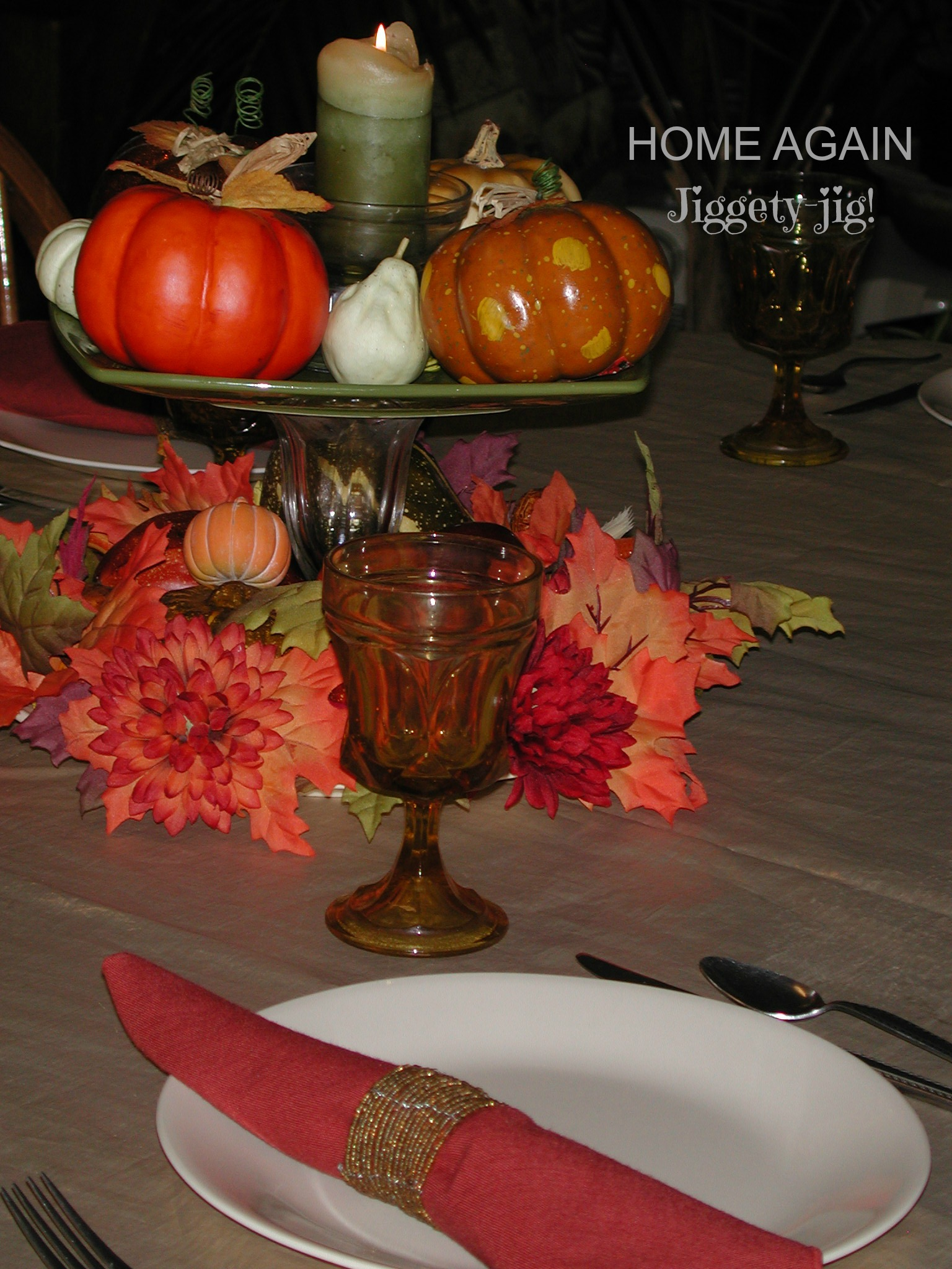 YOUR THANKSGIVING TABLE (Part 2)