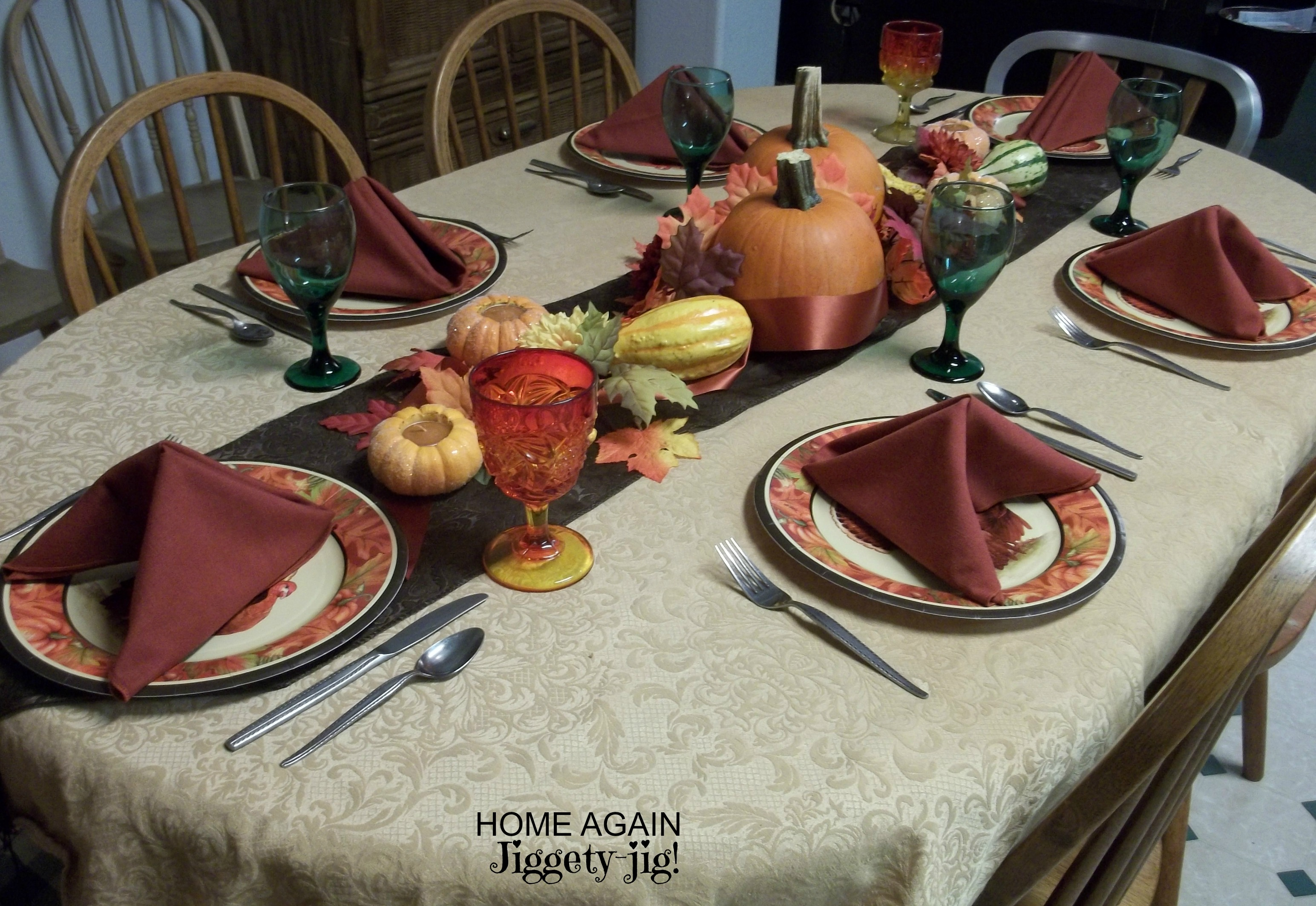 Thanksgiving table again