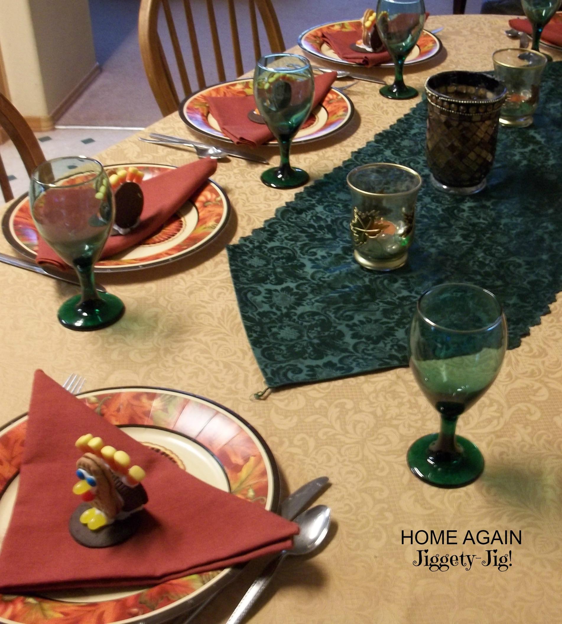 Turkey Cookie Table
