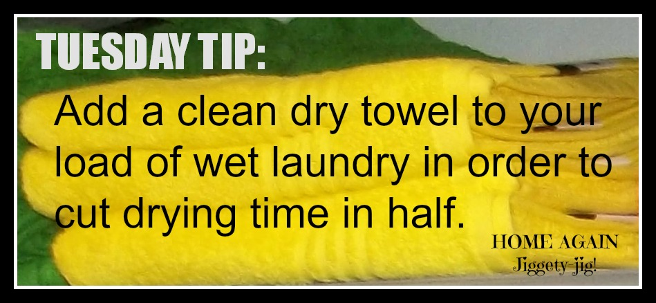 LAUNDRY – TUESDAY TIP