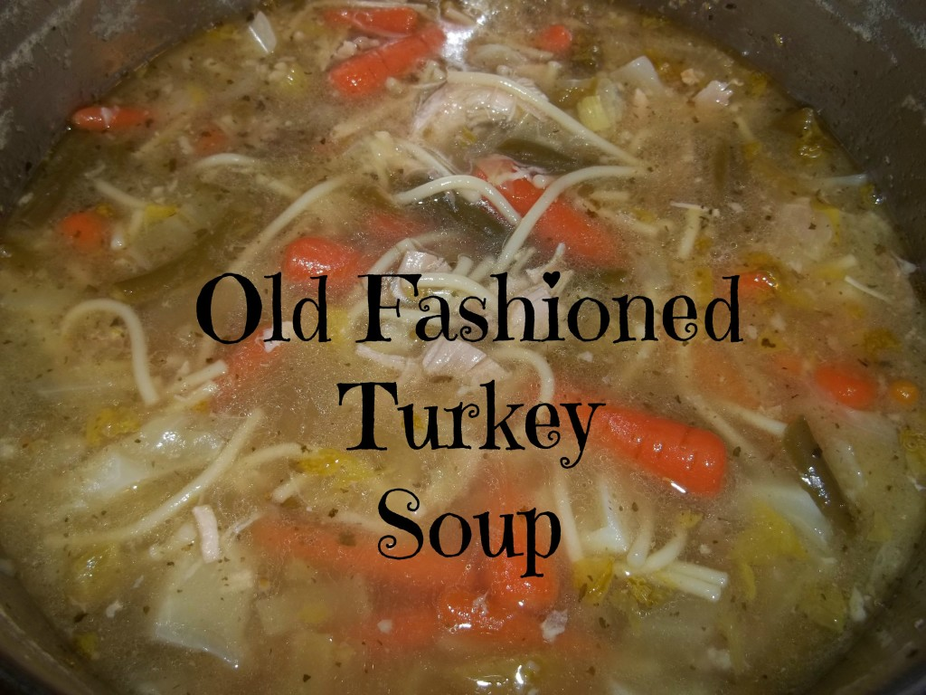 Old Fashioned Turkey Soup