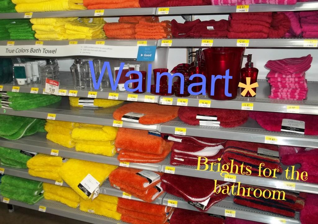 Walmart Bathroom Brights