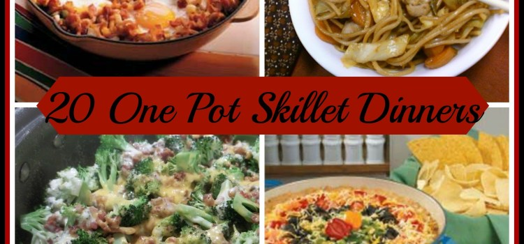 20 ONE-POT SKILLET DINNERS