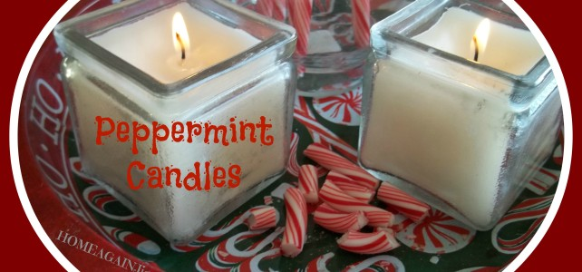 PEPPERMINT CANDLES USING ESSENTIAL OILS