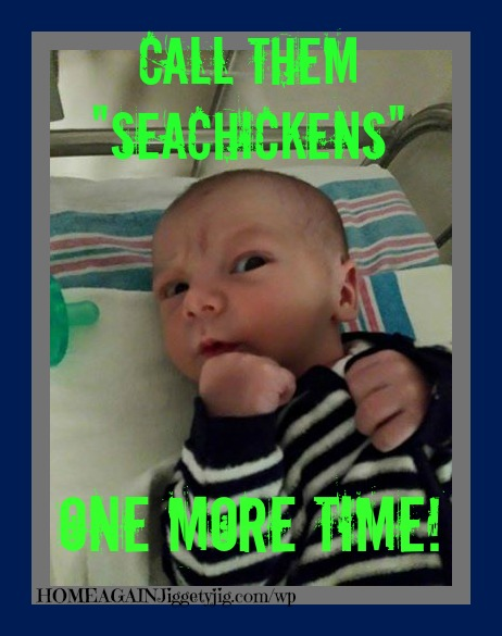 Newest Seahawk Fan. Troian - son of Josh and Meggan Briggs