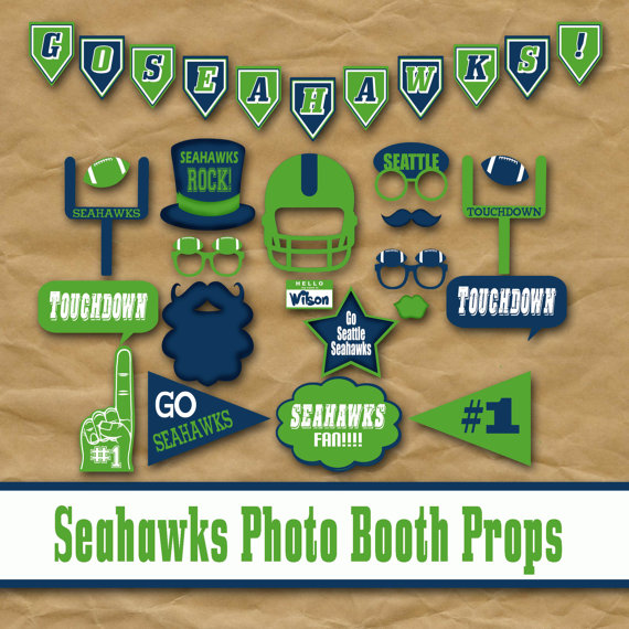 Seahawks etsy photo booth