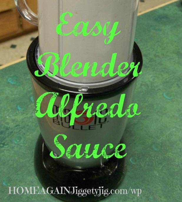 Easy Blender Alfredo Sauce