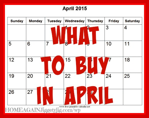 What to buy April-2015