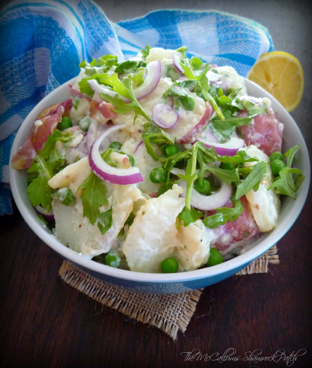Spring potato salad with Arugula