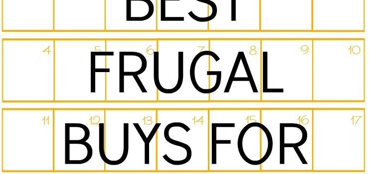 BEST FRUGAL BUYS FOR OCTOBER