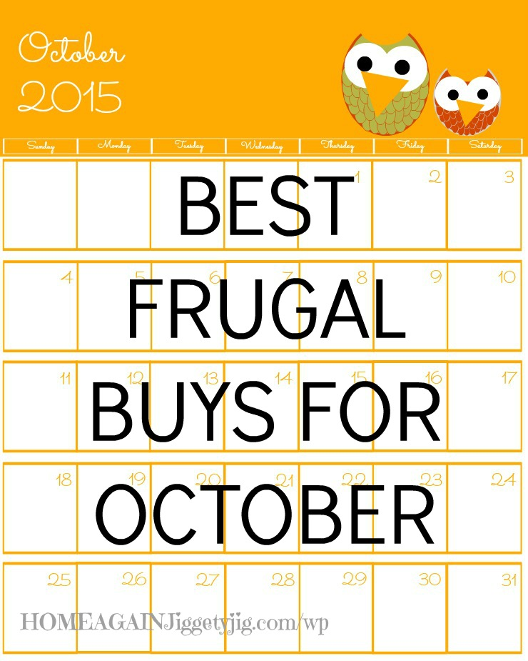 best october buys