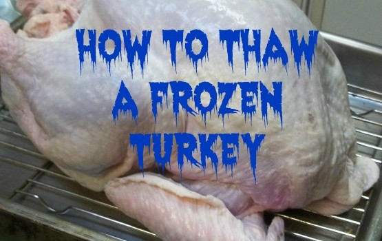 HOW TO DEFROST A FROZEN TURKEY