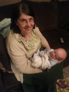 Grandma with Max