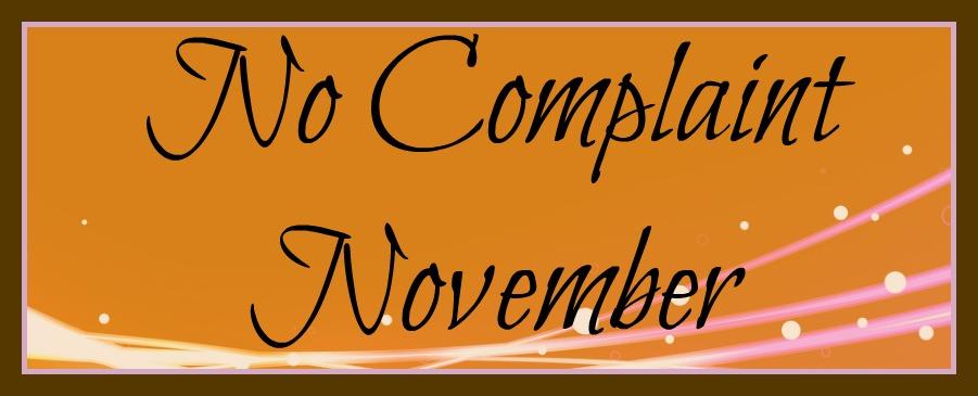 No Complaint November