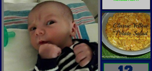 SEAHAWK FOOTBALL BABIES, PARTIES AND FOOD!