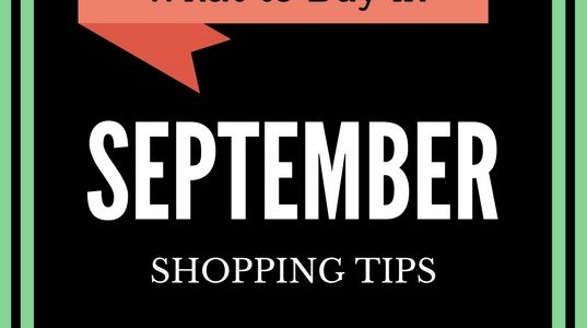 SEPTEMBER FRUGAL SHOPPING TIPS