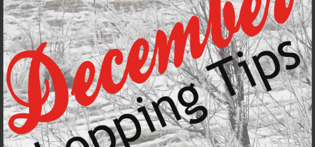 DECEMBER SHOPPING TIPS – What to Buy and NOT to buy!