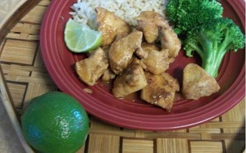 SIMPLY FABULOUS GARLIC LIME CHICKEN