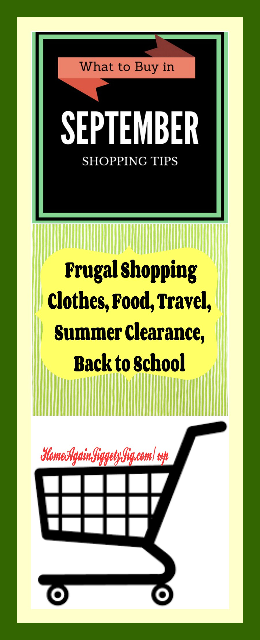 What to buy in september frugal tips home again for What is the best month to buy a house